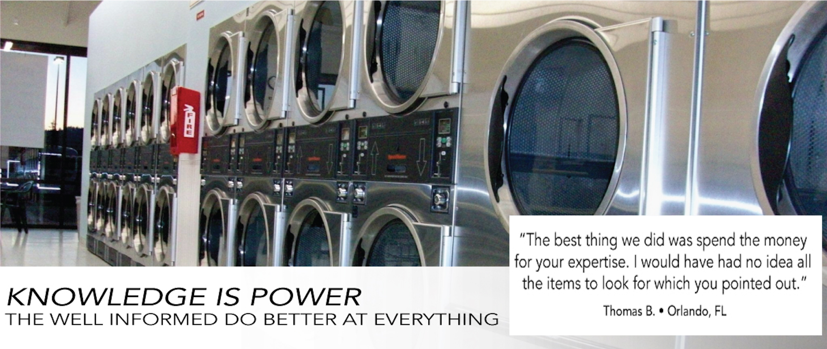 Bbb accredited expert will teach you how to value and buy a laundromat more client testimonials solutioingenieria Gallery